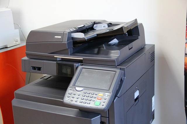 picture of a photocopy machine